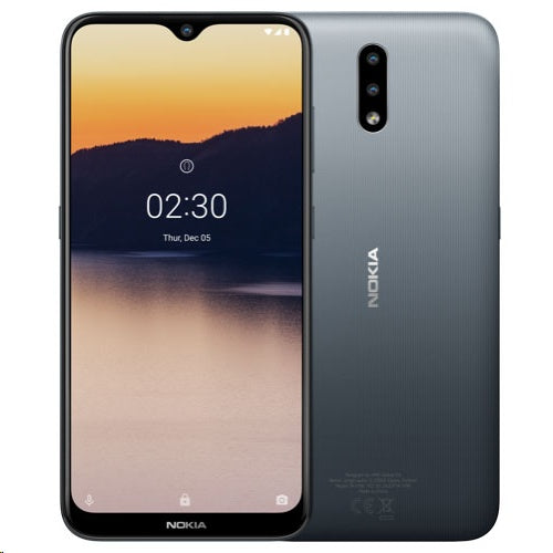 NOKIA 2.3 DUAL-SIM TA-1206 ANDROID ONE, 2GB/32GB, CHARCOAL
