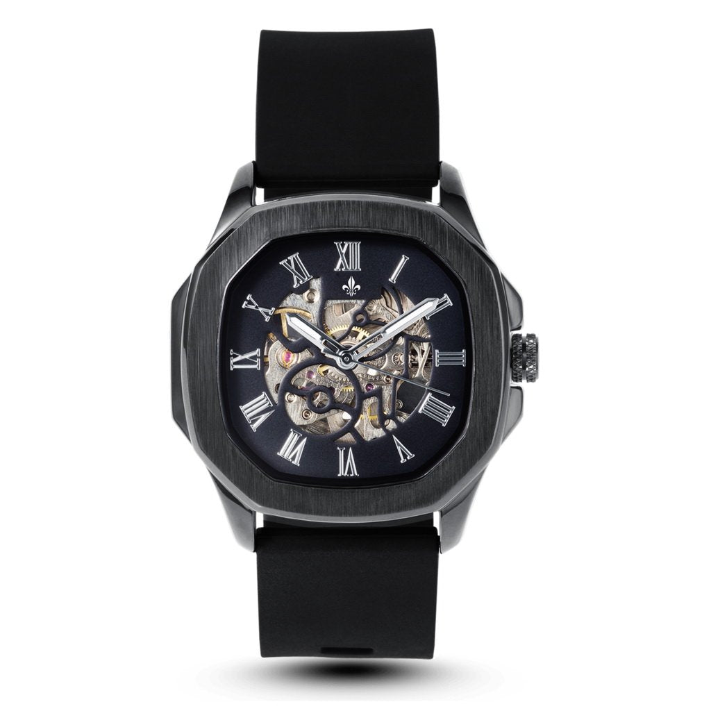Pretty look Black Rubber Belt Black Analog Watch
