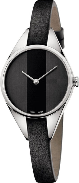 SILVER DIAL LEATHER STRAP Analogue  Women's Watch