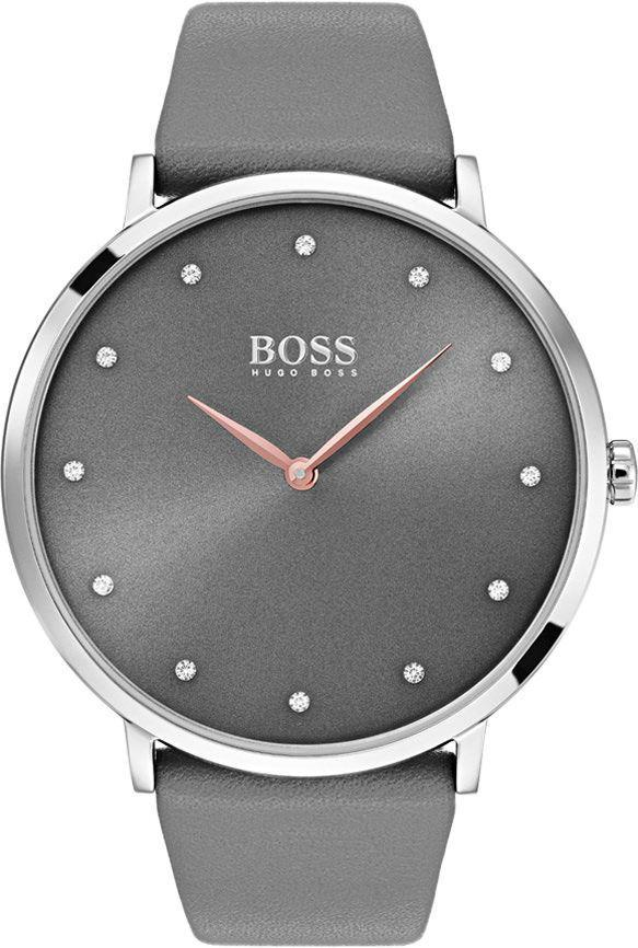 SILVER Dial LEATHER STRAP ANALOG Watch - For Girls