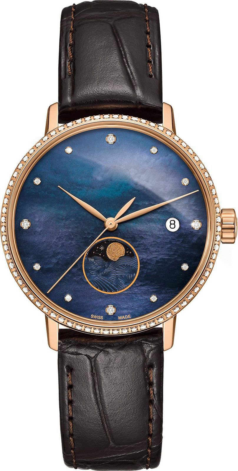 GOLD  Dial LEATHER STRAP ANALOG Watch - For WOMEN