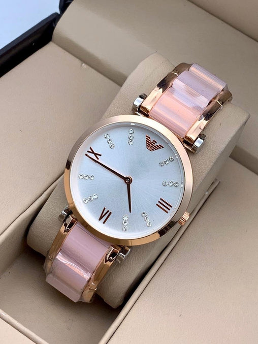 ROSE GOLD1 ANALOGY Watch - For Girls