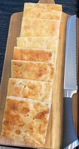 Multigrain Baking Box: Così Bake at Home Multigrain Flatbread (3 loaves), Organic Olive Oil (3 Pouches), and Kosher Salt (2 oz) - Cosi Home Delivery