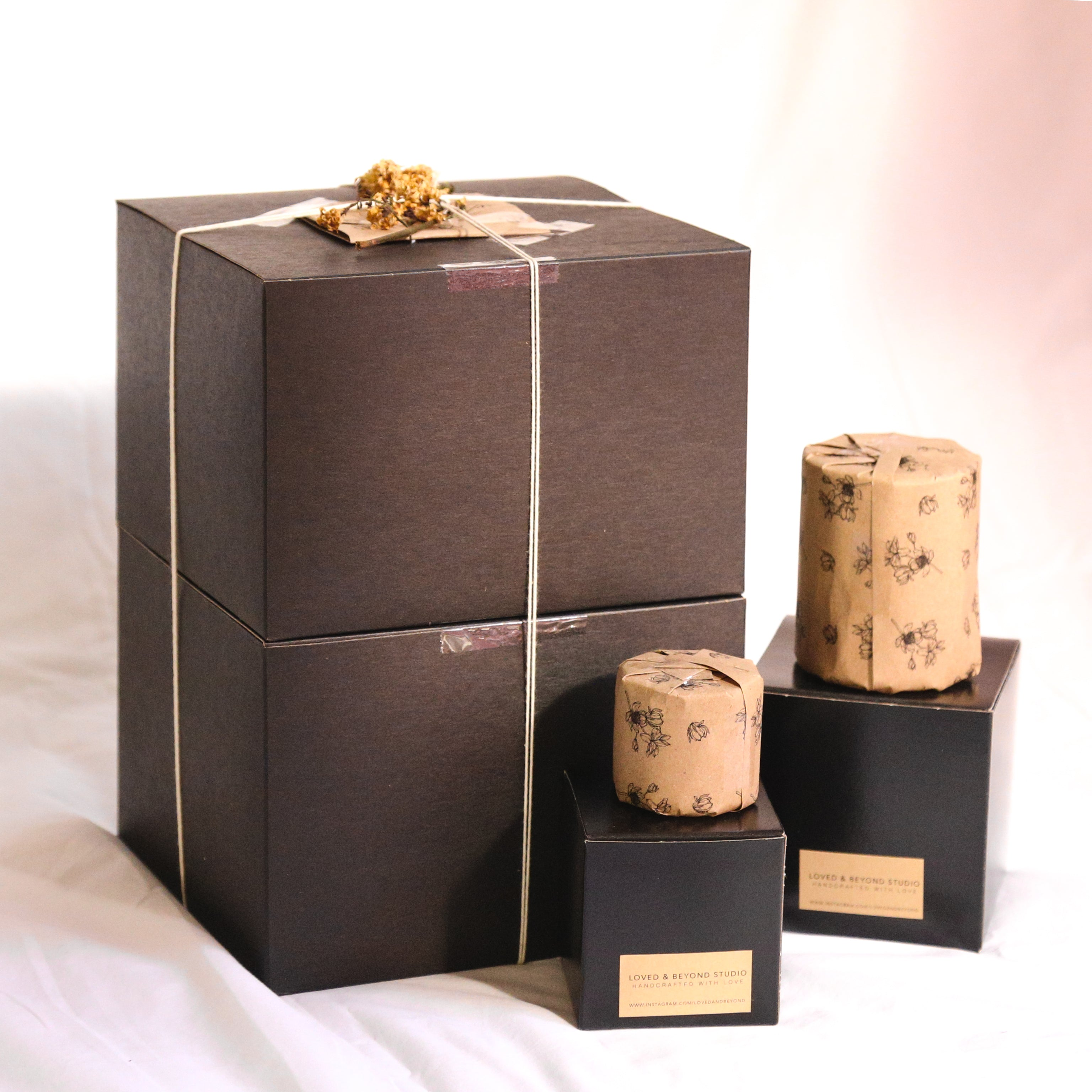 Giftwrap your Candle