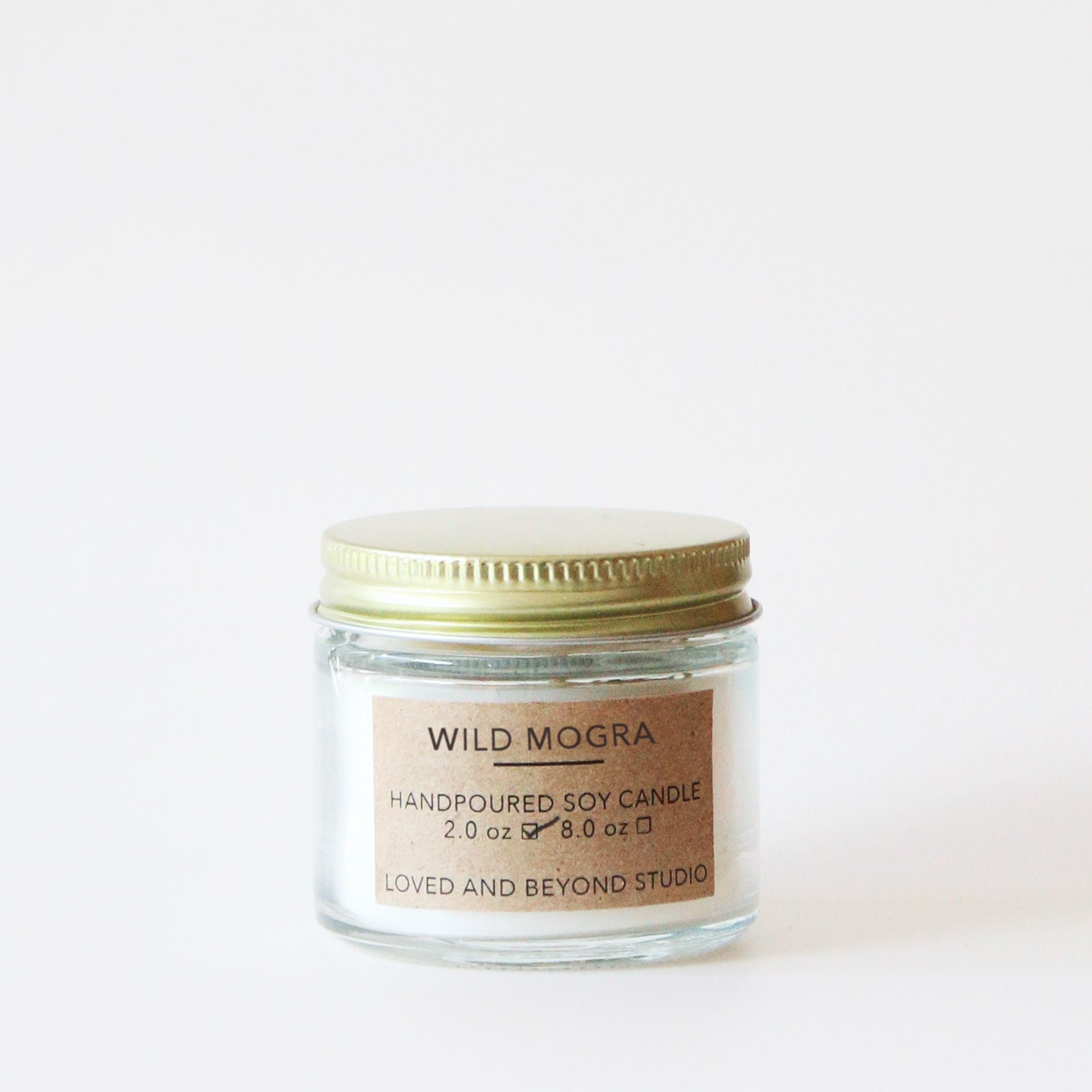 Wild Mogra Mini Candle