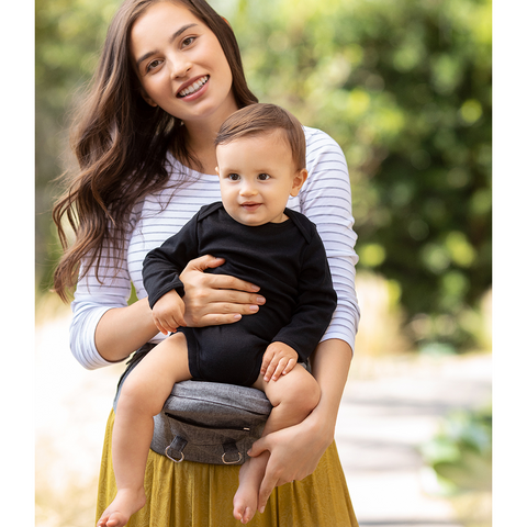 MOBY 2-in-1 Baby Carrier & Hipseat