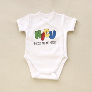 Itty Bitty Baby NICU Friendly Graphic Kimono Bodysuit