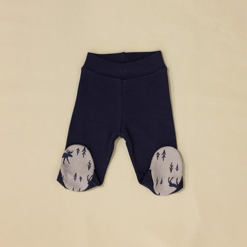 Image of Itty Bitty Baby NICU Friendly Navy Moose Layette Set