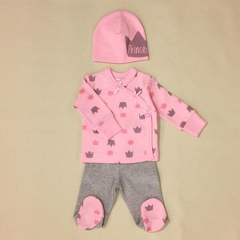 Itty Bitty Baby NICU Friendly Stars Pink Layette Set