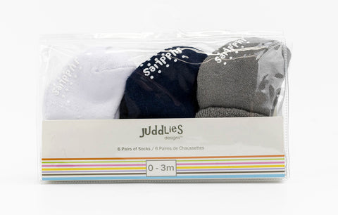 Image of 6PK Infant Socks - Boys