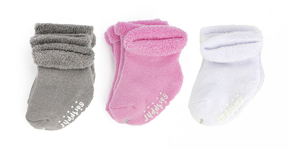 6PK Infant Socks - Girls
