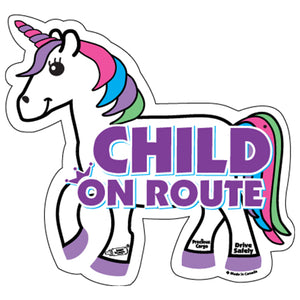 Baby On Route Stickers