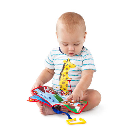 Image of Baby Einstein Explore & Discover Soft Book