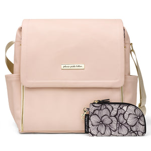 Boxy Backpack in Blush Leatherette