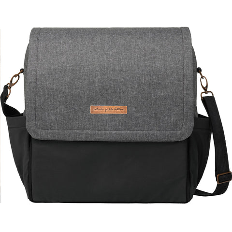 Boxy Backpack in Graphite/Black