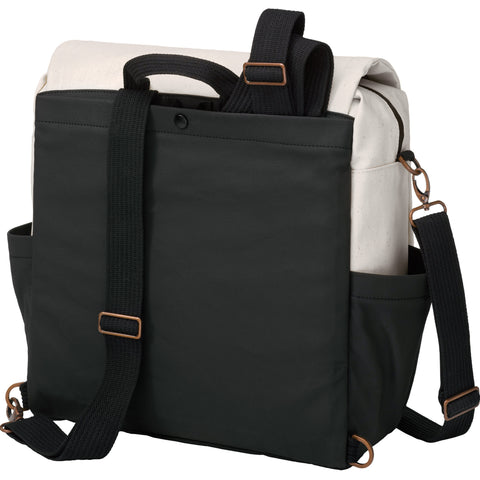 Boxy Backpack in Birch/Black