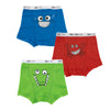 Boys Boxers - Fish, Crab & Croc 3PK