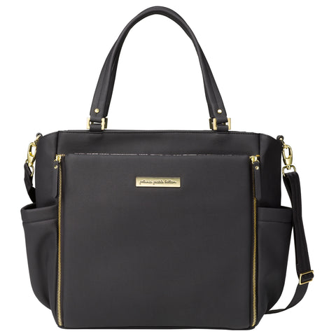 City Carryall in Black Matte Leatherette