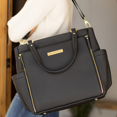 Image of City Carryall in Black Matte Leatherette