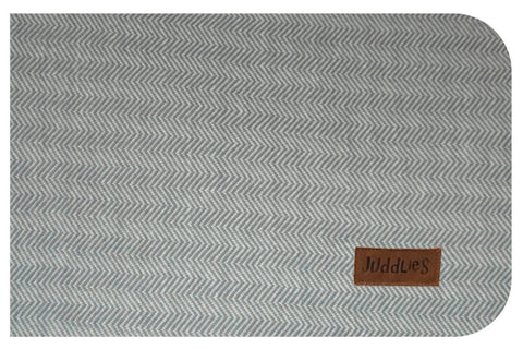 Image of Cottage Collection Crib Sheet - Driftwood Grey