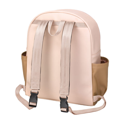 District Backpack 5 Piece Set (Blush / Camel Leatherette)