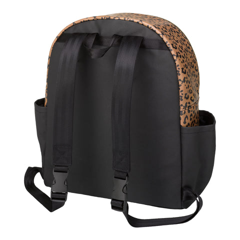 District Backpack 5 Piece Set (Leopard Leatherette)
