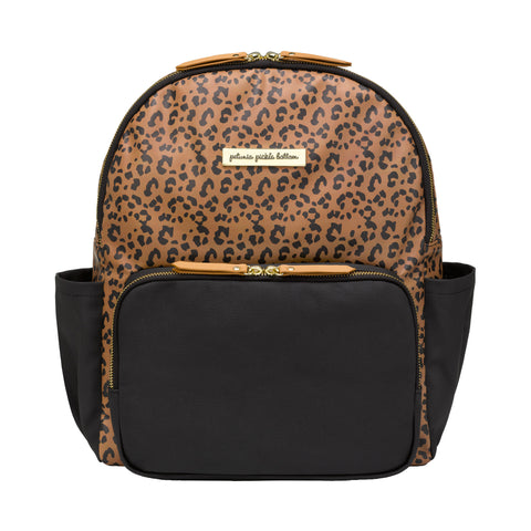 Image of District Backpack 5 Piece Set (Leopard Leatherette)
