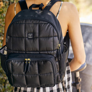 District Backpack 5 Piece Set (Shadow Black)