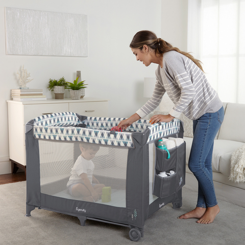 Image of Ingenuity Smart and Simple Playard (Chadwick)
