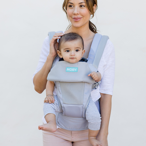MOBY Baby Carrier (Glacier Grey)