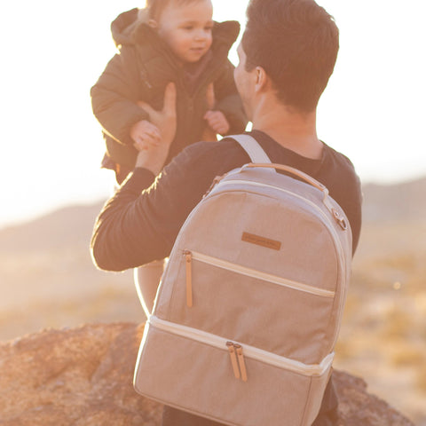 Image of Axis Diaper Bag Sand