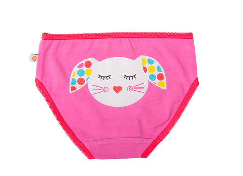 Image of Girls Underwear - Bunny, Frog & Owl 3PK