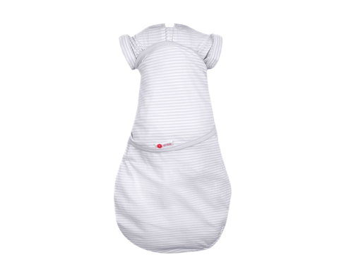Embe' Gray Stripe Transitional SwaddleOut