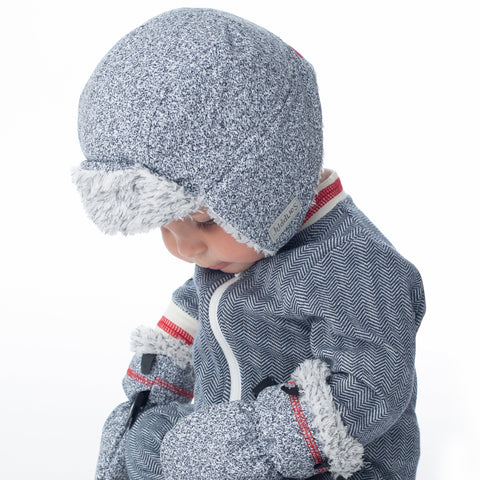 Image of Juddlies Winter Mitts (Salt & Pepper Grey)