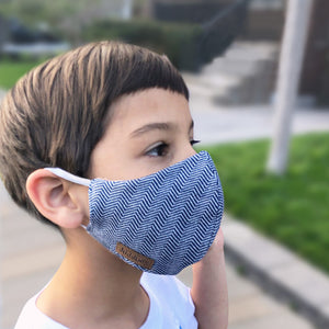 Juddlies Organic Cotton Reusable Face Masks - Family Pack
