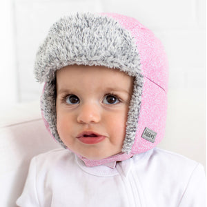 Juddlies Winter Hats - Salt & Pepper Grey