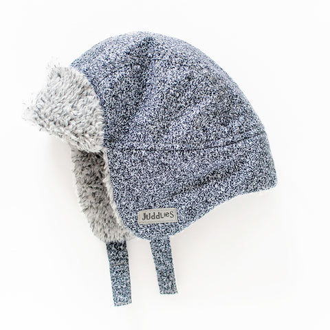 Image of Juddlies Winter Hats - Salt & Pepper Grey