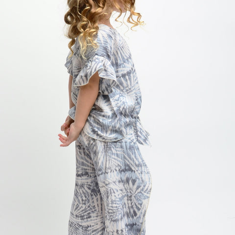 Image of KIDS PRINTED WOVEN PANTS