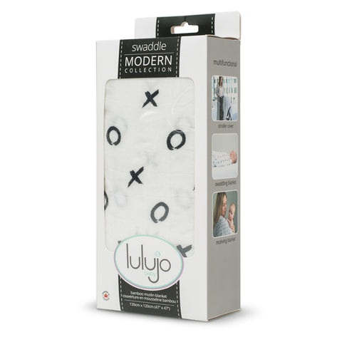 Image of Lulujojo Bamboo XOXO Swaddle