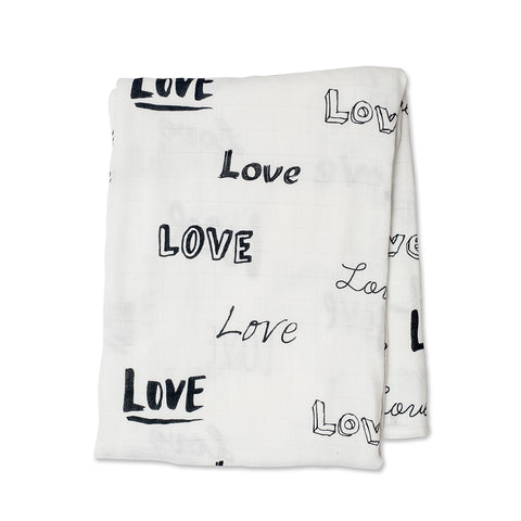 Image of Lulujojo Bamboo Love Swaddle