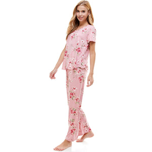 Loungewear set for women's pajama