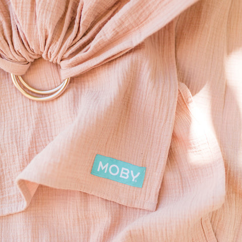 Image of MOBY Ring Sling - Rose