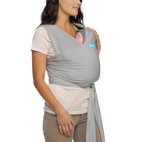 Image of MOBY Classic Wrap - Stone Grey