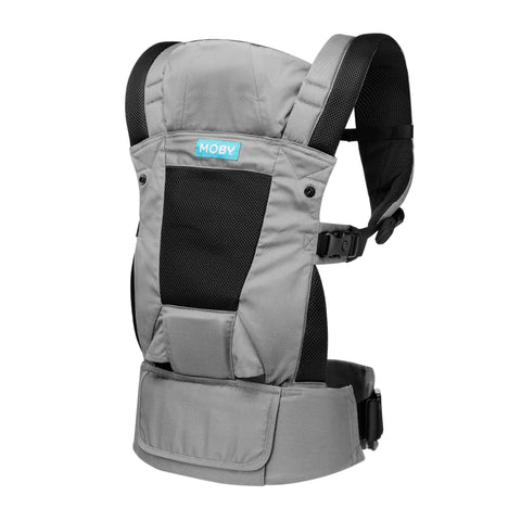 Image of MOBY Move 4 Position Carrier (Charcoal Grey)