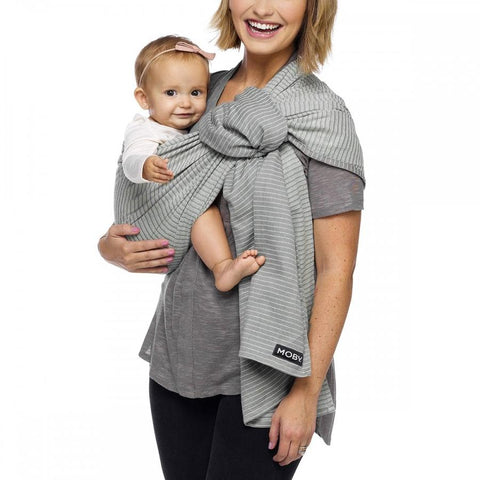 Image of MOBY Ring Sling - Silver Streak