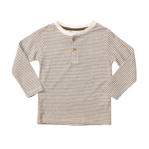 Image of Micro Stripe Henley