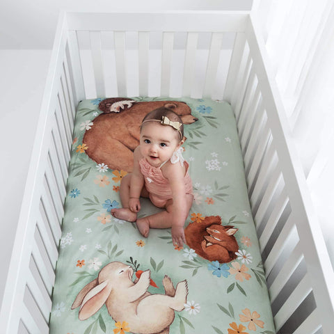 Image of Rookie Humans Enchanted Meadows Crib Sheet