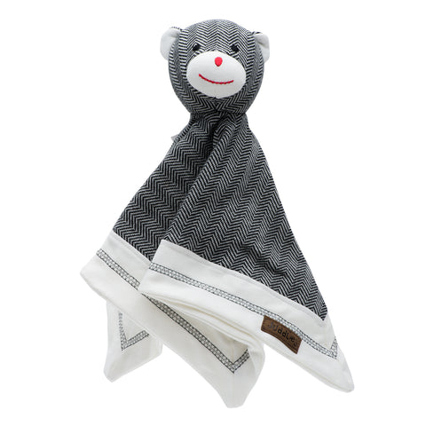 Organic Cottage Collection Lovey Bear- Bear Black