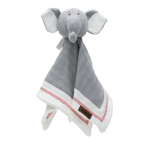 Organic Cottage Collection Lovey Elephant- Driftwood Grey
