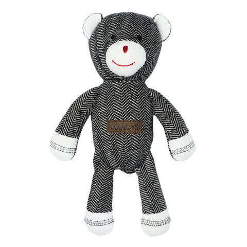 Organic Cottage Collection Rattle Bear- Bear Black